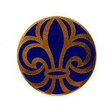 Förtjänstmärke guld-emalj, 25 år