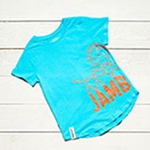 Jamboree 17 Wrap T-shirt Blå Barn
