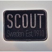 Märke Scout Sweden Est.1910