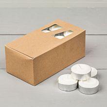 Värmeljus 24-pack, RSPO-certifierat palmvax
