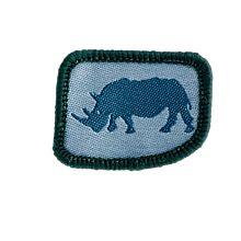 Patrullmärke Noshörningen 10-pack