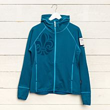 Fleece Scout Blå insvängd