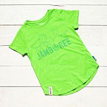 Jamboree 17 T-shirt Grön Insvängd