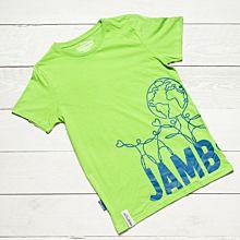 Jamboree 17 Wrap T-shirt Grön Barn