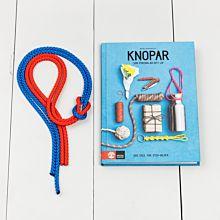 Knopkitet består av knoprep (2-pack) och boken knopar som förenklar ditt liv
