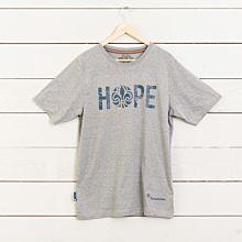 T-shirt HOPE insv grå
