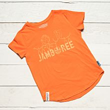 Jamboree 17 T-shirt Orange Insvängd