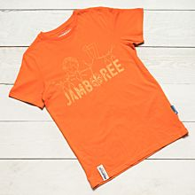 Jamboree 17 T-shirt Orange Barn