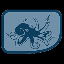 Patrullmärke Bläckfisken 10-Pack