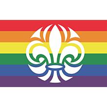 Scouternas Regnbågsflagga