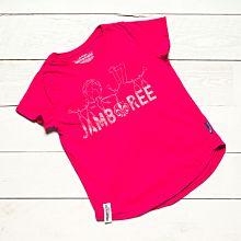 Jamboree 17 T-shirt Rosa Insvängd