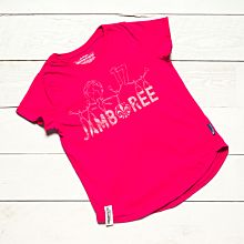 Jamboree 17 T-shirt Rosa Rak