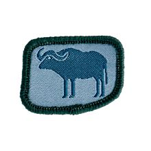 Patrullmärke Vattenbuffeln 10-pack