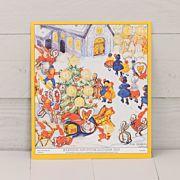 Barnens adventskalender 2021 är ett nytryck av 1948 års julkalender, ritad av Aina Stenberg MasOlle.