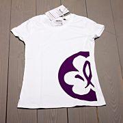 Equmenia scout t-shirt insvängd VIT