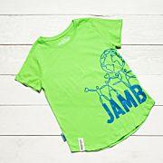 Jamboree 17 Wrap T-shirt Grön Insvängd