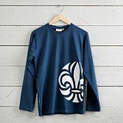 Scout t-shirt barn lång ärm
