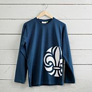 Scout t-shirt rak, lång ärm