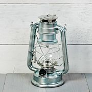 LED-lykta silver