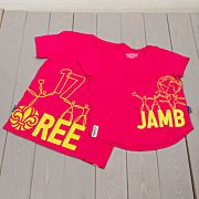 Jamboree 17 Wrap T-shirt Rosa Barn