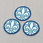 Scoutsymbolen blå 10-pack