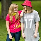 Stor T-shirt Jamboree Grå