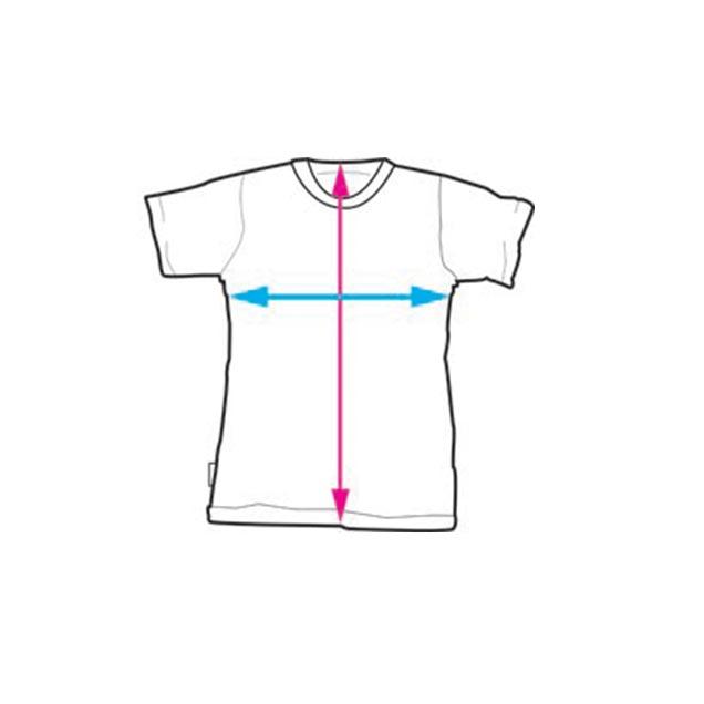 Illustrerad bild på scout t-shirten
